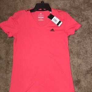 adidas ultimate 2.0 v neck tee retailed for $25